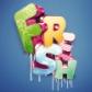 Постоянная ссылка на Лучшие уроки Photoshop по созданию 3Dтекста