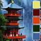 Постоянная ссылка на Цветовые палитры, вдохновленные краскамиКитая