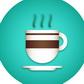 Постоянная ссылка на Плоская и объемная иконки горячего напитка в AdobeIllustrator
