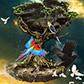 Постоянная ссылка на Летающее дерево в AdobePhotoshop