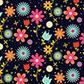 Постоянная ссылка на Рисуем цветочный паттерн в AdobeIllustrator