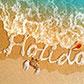 Постоянная ссылка на Текст из морской пены в AdobePhotoshop