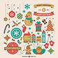 Постоянная ссылка на Иконки и графические элементы для новогоднегодизайна
