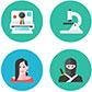 Постоянная ссылка на Цветные и плоские иконки для вашегодизайна