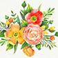 Постоянная ссылка на Цветы в векторномформате