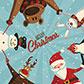 Постоянная ссылка на Новогодние открытки ввекторе