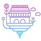 Постоянная ссылка на Иконка фантазийного города в AdobeIllustrator