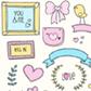 Постоянная ссылка на Бесплатные векторные ресурсы для милого и романтичногодизайна