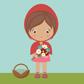 Постоянная ссылка на Красная Шапочка с помощью основных форм AdobeIllustrator