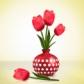 Постоянная ссылка на Рисуем тюльпаны вIllustrator