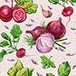 Постоянная ссылка на Овощные паттерны длявдохновения