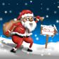 Постоянная ссылка на «Прогулка Санта Клауса» инструментами AdobePhotoshop