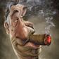 Постоянная ссылка на 50 карикатурзнаменитостей