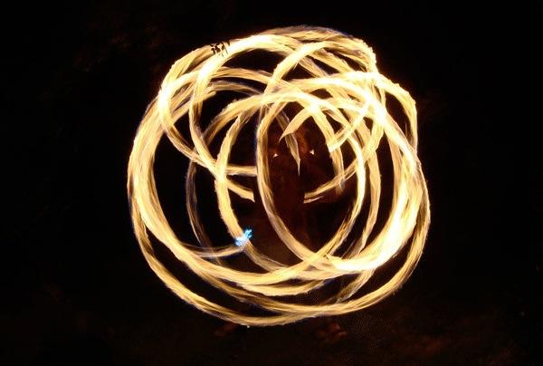 Кольца горящие в огне