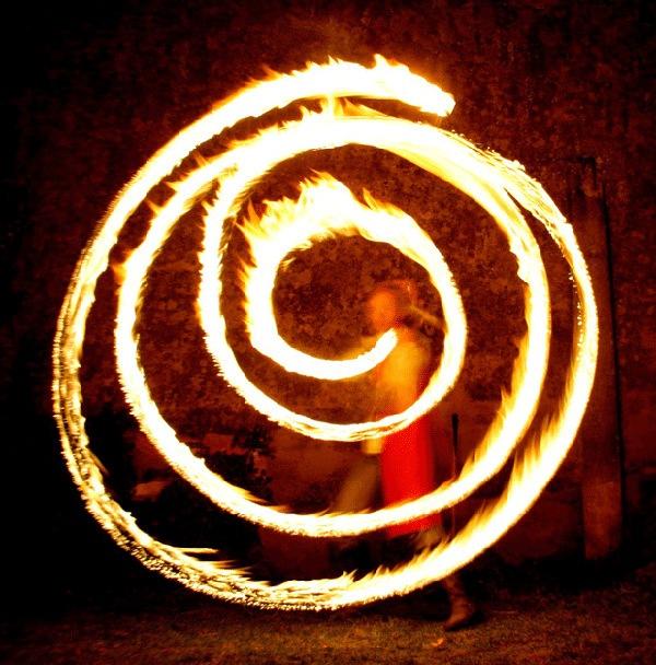 Огненная спираль