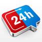 Постоянная ссылка на Создаем иконку «24h» в AdobeIllustrator
