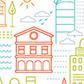 Постоянная ссылка на Контурный городок в AdobeIllustrator
