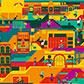 Постоянная ссылка на Стилизованная иллюстрация города в AdobeIllustrator