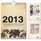 Постоянная ссылка на Примеры дизайна календарей 2013года