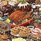 Постоянная ссылка на Новогодние иллюстрации для праздничногонастроения