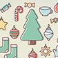 Постоянная ссылка на Новогодний и рождественский вектор для вашегодизайна