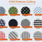 Постоянная ссылка на Фоновые текстуры в виде шахматной доски и полос с использованием градиентовCSS3