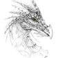 Постоянная ссылка на Превосходные рисунки драконов простымкарандашом