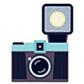 Постоянная ссылка на Векторный клипарт на тему фото- ивидеокамер