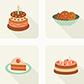 Постоянная ссылка на Бесплатные сладости в векторномформате
