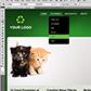 Постоянная ссылка на Верстка целой страницы в зеленой гамме с использованием CSS3 иHTML5