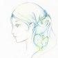 Постоянная ссылка на Как нарисовать девушку в профиль цветнымикарандашами