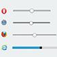 Постоянная ссылка на Стилизация полосы прокрутки HTML5 для разныхбраузеров