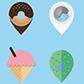 Постоянная ссылка на Интересный дизайн маркеров-булавок для онлайнкарт