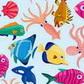 Постоянная ссылка на Векторные наборы на тему морскихжителей