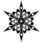 Постоянная ссылка на Рисуем простую и красивую снежинку в AdobePhotoshop