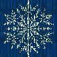 Постоянная ссылка на Вязанная снежинка в AdobeIllustrator