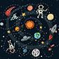 Постоянная ссылка на Космический вектор для вашегодизайна