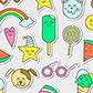 Постоянная ссылка на 20 бесплатных наборов милых векторныхстикеров