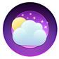 Постоянная ссылка на Классная иконка погоды за 6 шагов в AdobeIllustrator