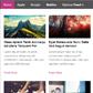 Постоянная ссылка на 25 бесплатных WordPress-тем дляблогов