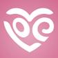 Постоянная ссылка на 30 примеров художественных логотипов в формесердца