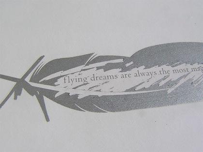 визитка с рисунком