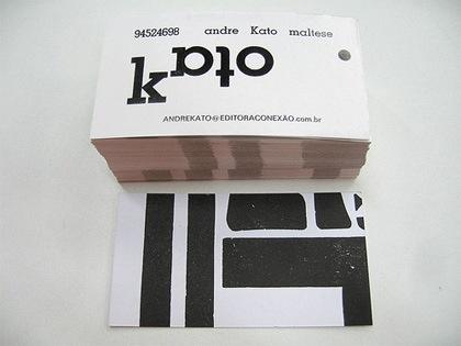 стопка визиток