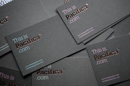 классические визитные карточки