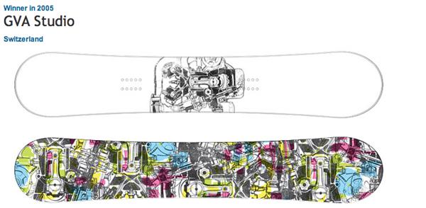 примеры дизайнов сноубордов