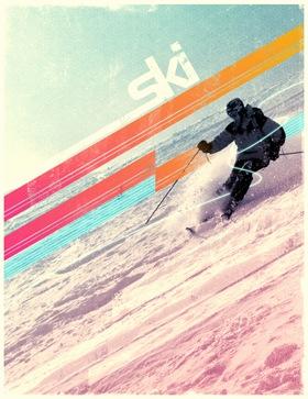 постер экстремального вида спорта