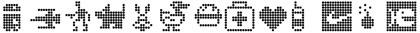 пиксельные шрифты