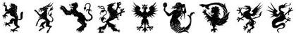 шрифты-гербы