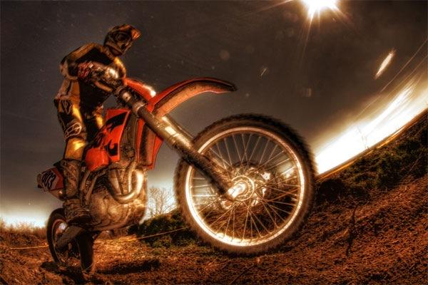 hdr мотоцикл