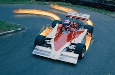 огонь на дороге